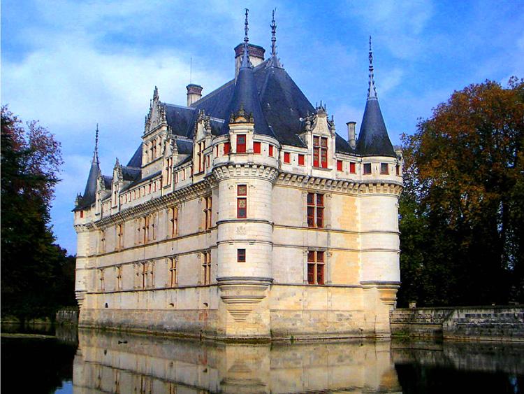 Top ten european guide project les ch teaux de la loire - Chateau de la loire azay le rideau ...